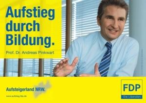 FDP Wahlplakat