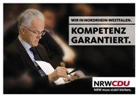 CDu Wahlplakat