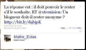 tweet me eolas