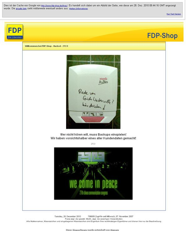 FDP-Shophacked